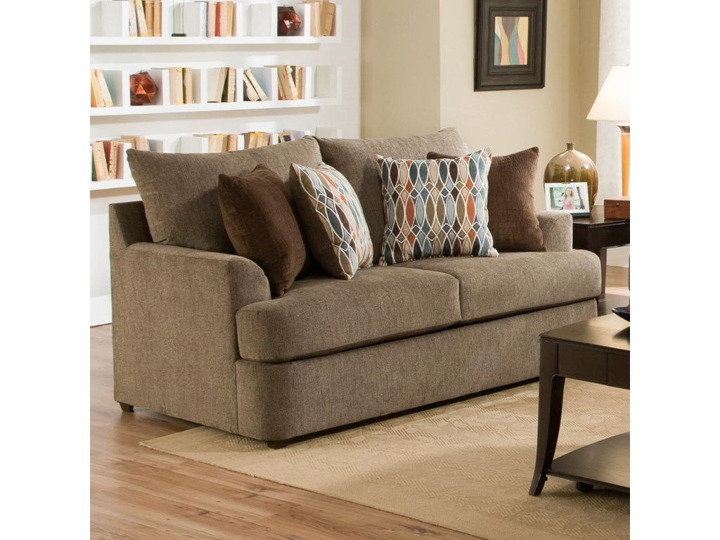 VFM Basics 8540BRCasual Loveseat