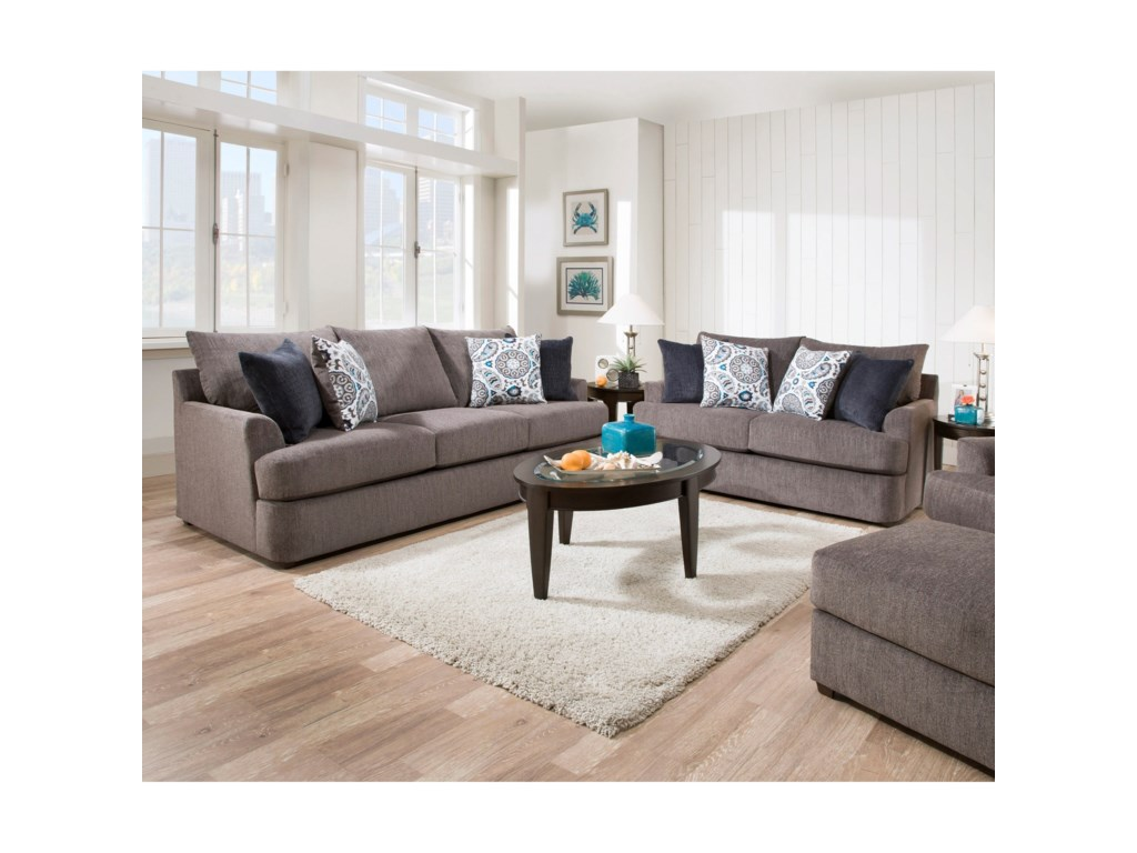United Furniture Industries 8540BRCasual Sofa