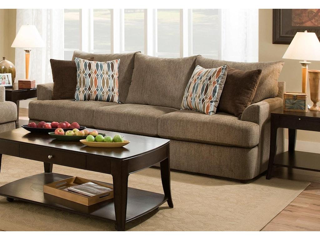 United Furniture Industries 8540 GrandCasual Sofa