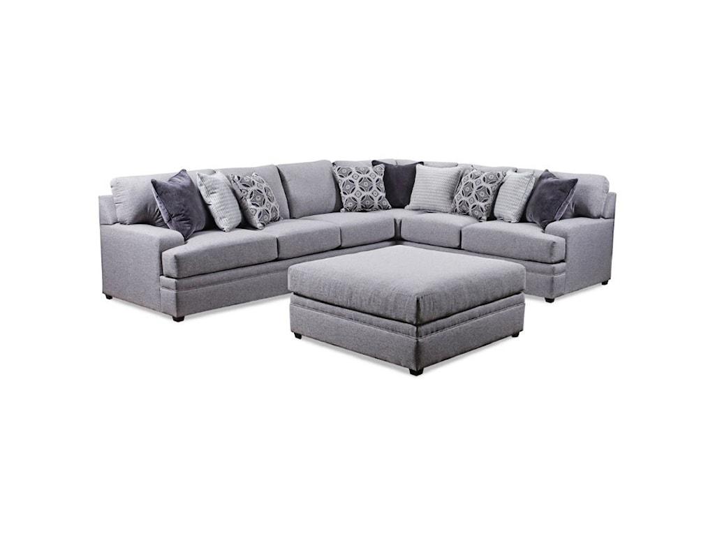 VFM Basics 8560 BRCasual Sectional Sofa