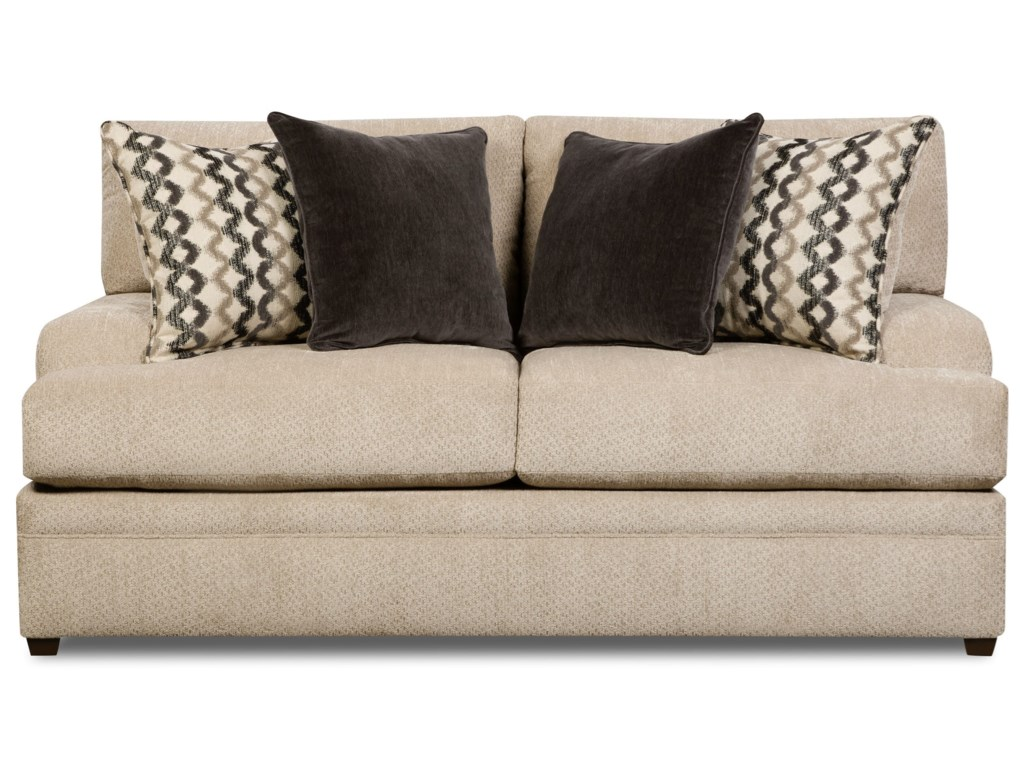 United Furniture Industries 8560 BRCasual Loveseat