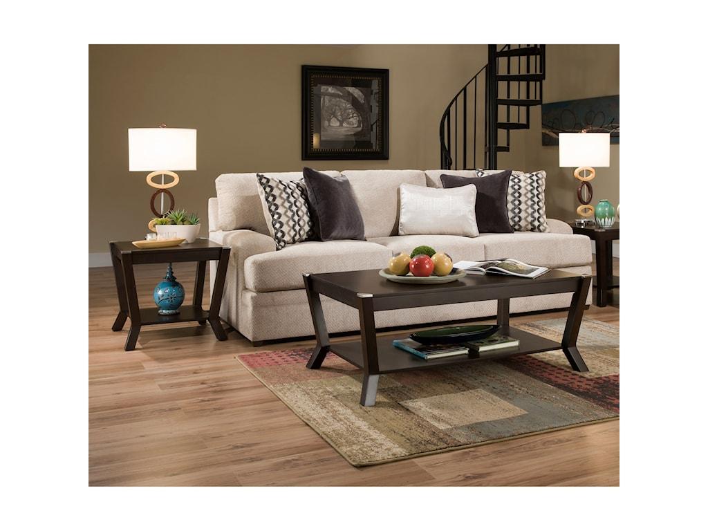 VFM Basics 8560 BRCasual Sofa