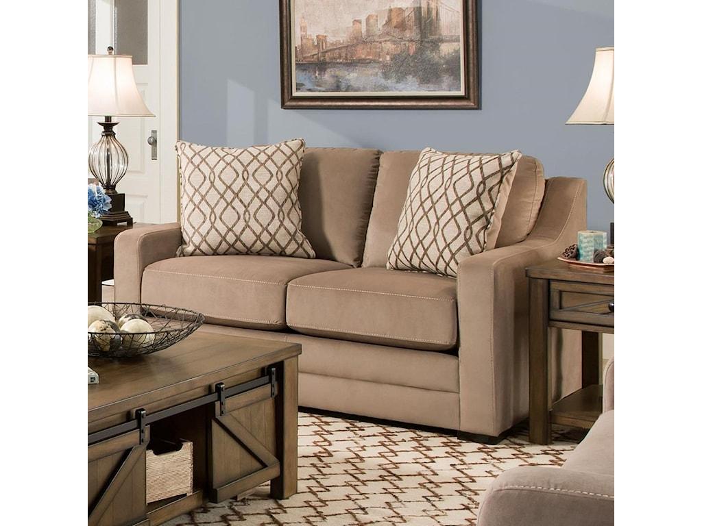 United Furniture Industries 8941BRLove Seat