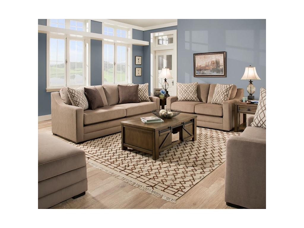 United Furniture Industries 8941BRSofa