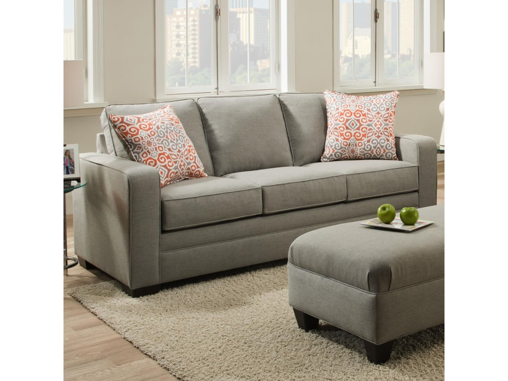 Simmons Sofa Simmons Upholstery 4277 Traditional Loveseat