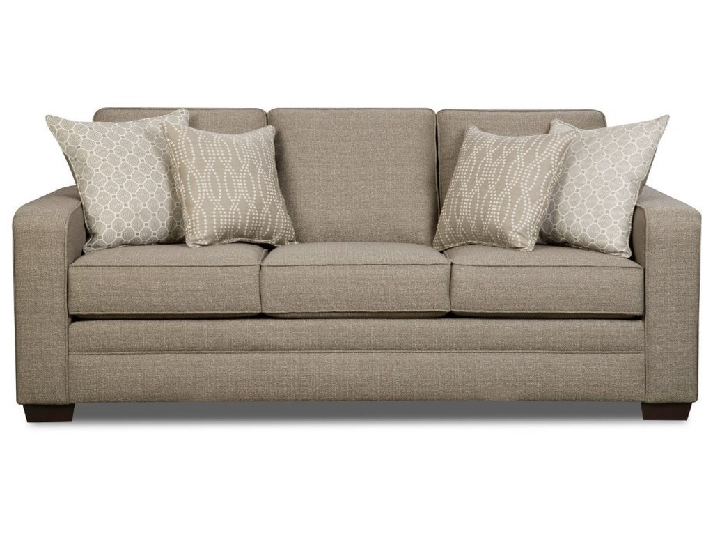 Simmons Upholstery 9065transitional Sofa