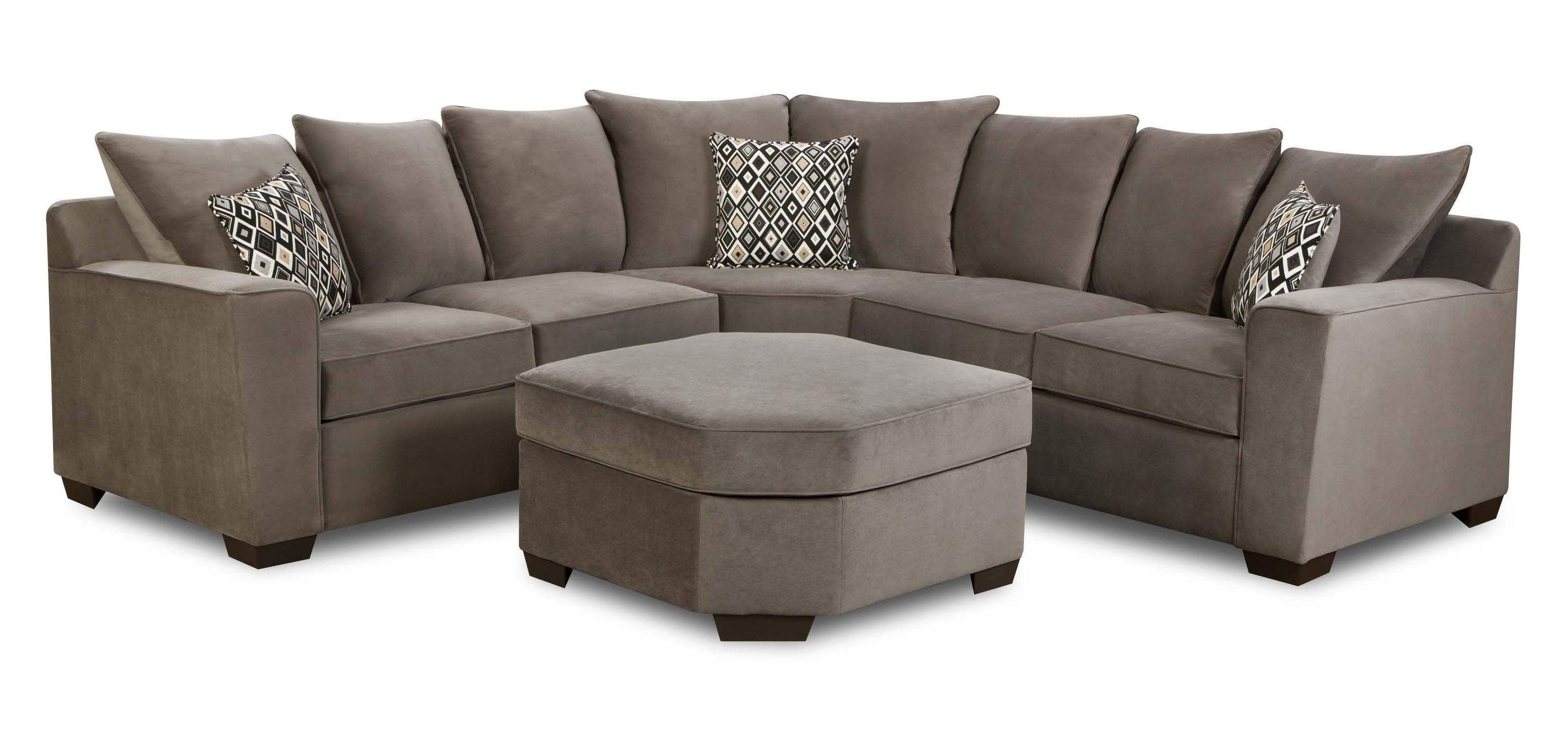 Superieur ... United Furniture Industries 9070Transitional 2 Piece Sectional Sofa ...