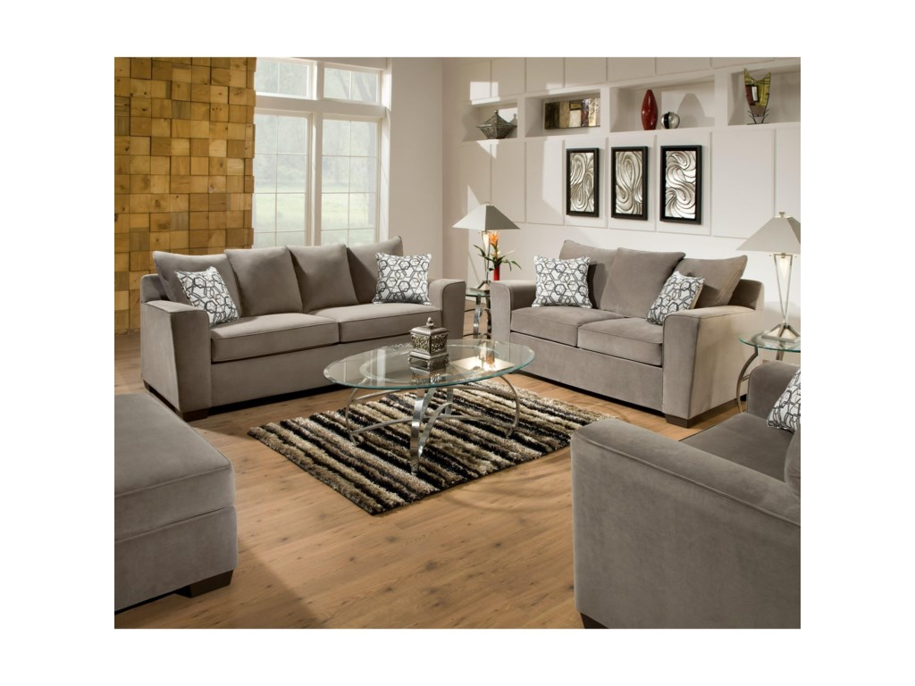 Blue Hill 9073Loveseat