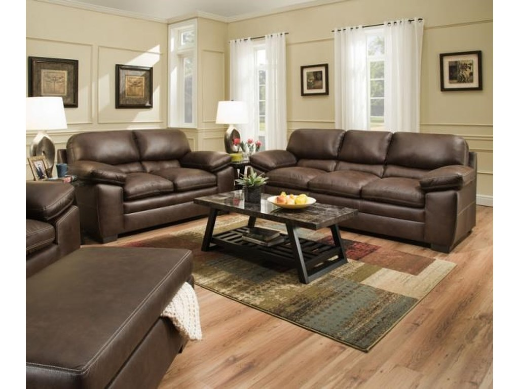 United Furniture Industries 9085Sable Recliner
