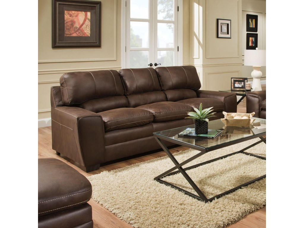 Simmons Upholstery 9085Sofa and Loveseat