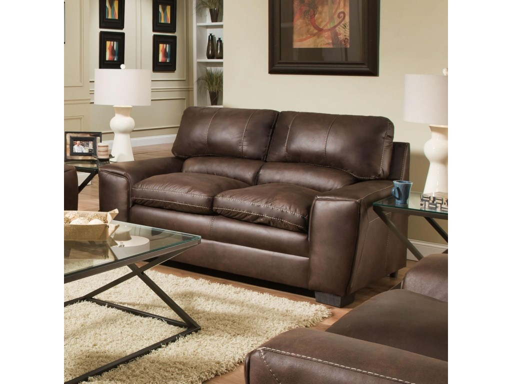 Simmons Upholstery 9085Loveseat
