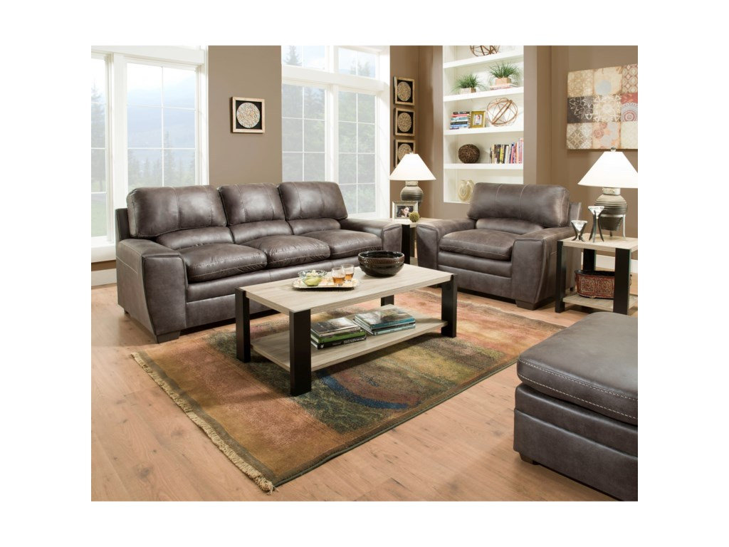 United Furniture Industries 9085Sofa