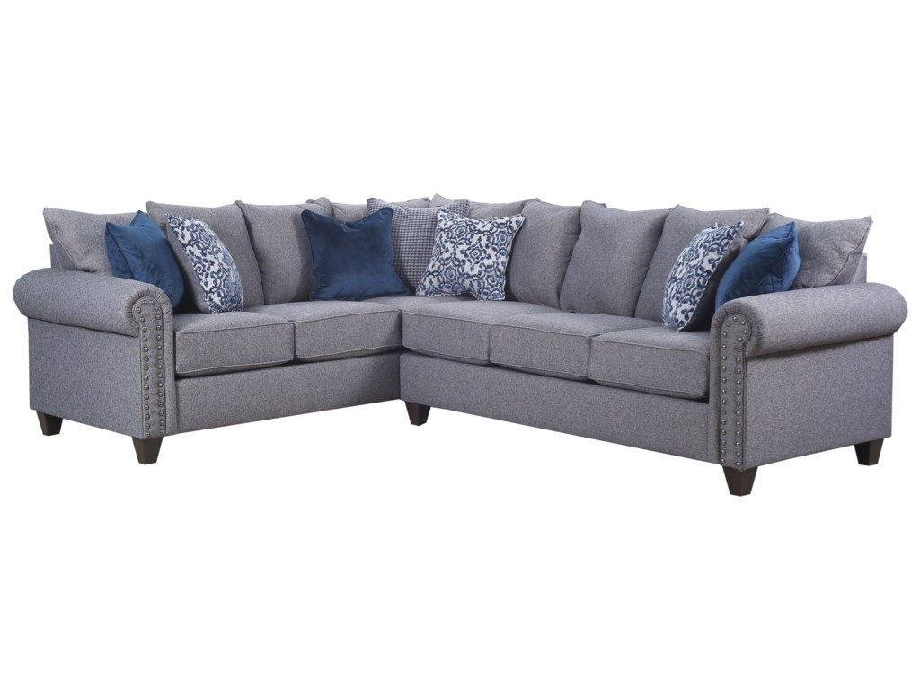 United Furniture Industries 9175BR5 Seat Sectional