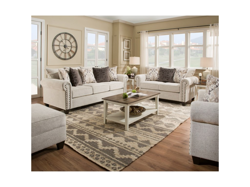 Lane Home Furnishings 9175BRLove Seat