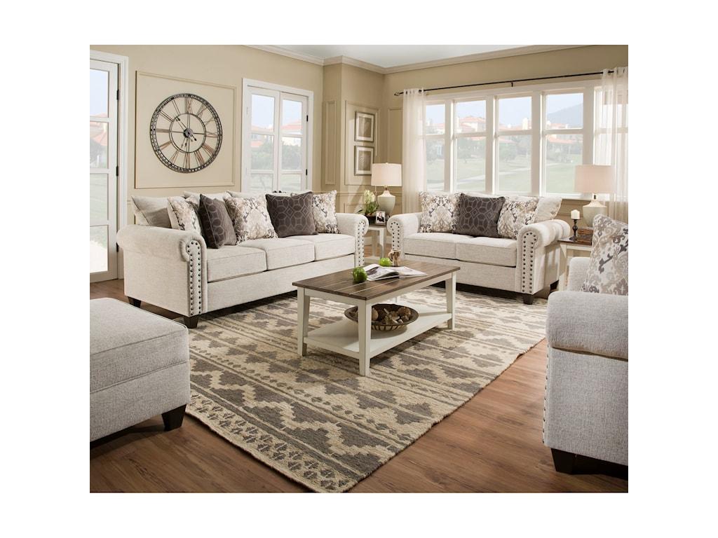 United Furniture Industries 9175BRLove Seat