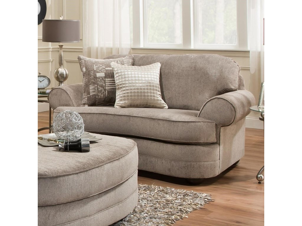 Simmons Upholstery 9255BRTransitional Chair