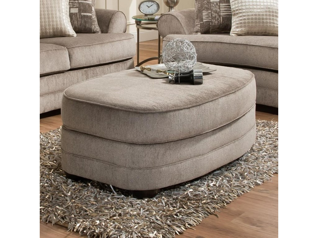 Lane Home Furnishings 9255BROval Ottoman