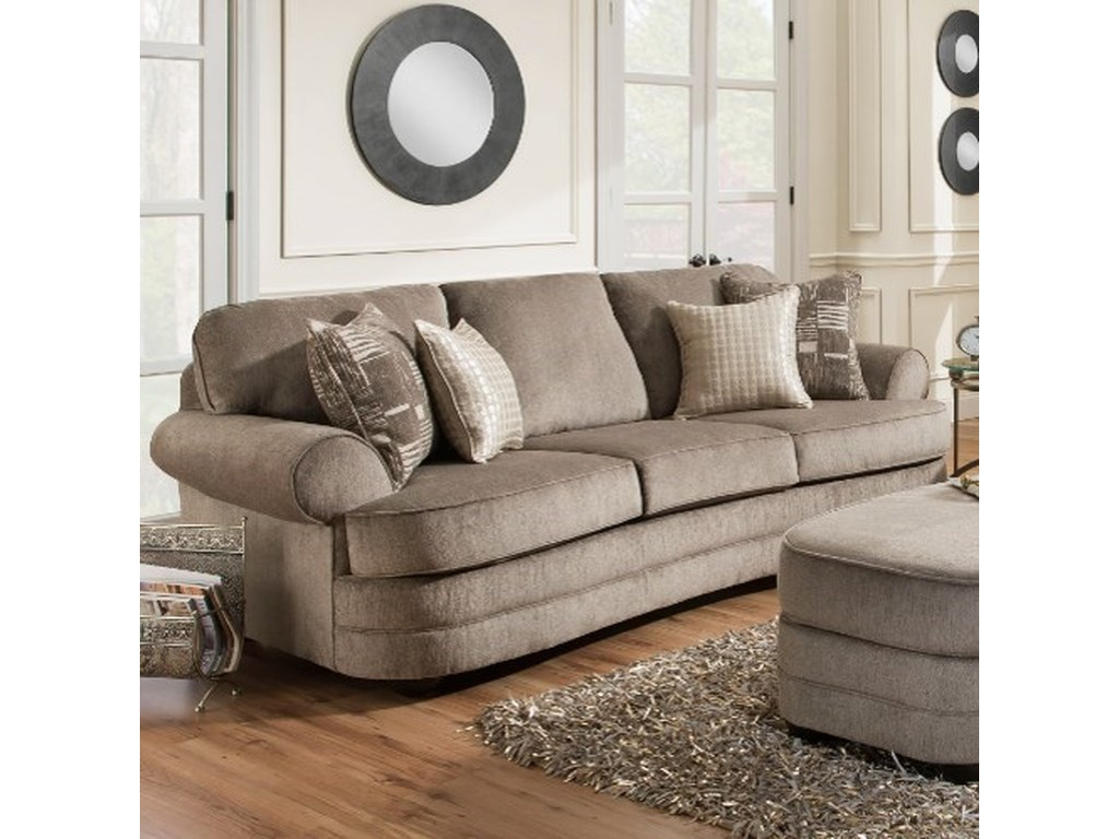 United Furniture Industries 9255BRTransitional Sofa