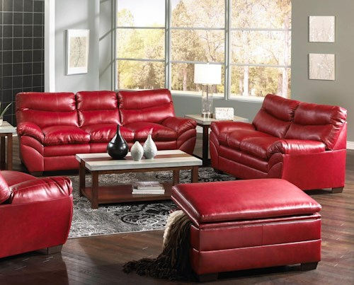 United Furniture Industries 9515 Stationary Living Room Group