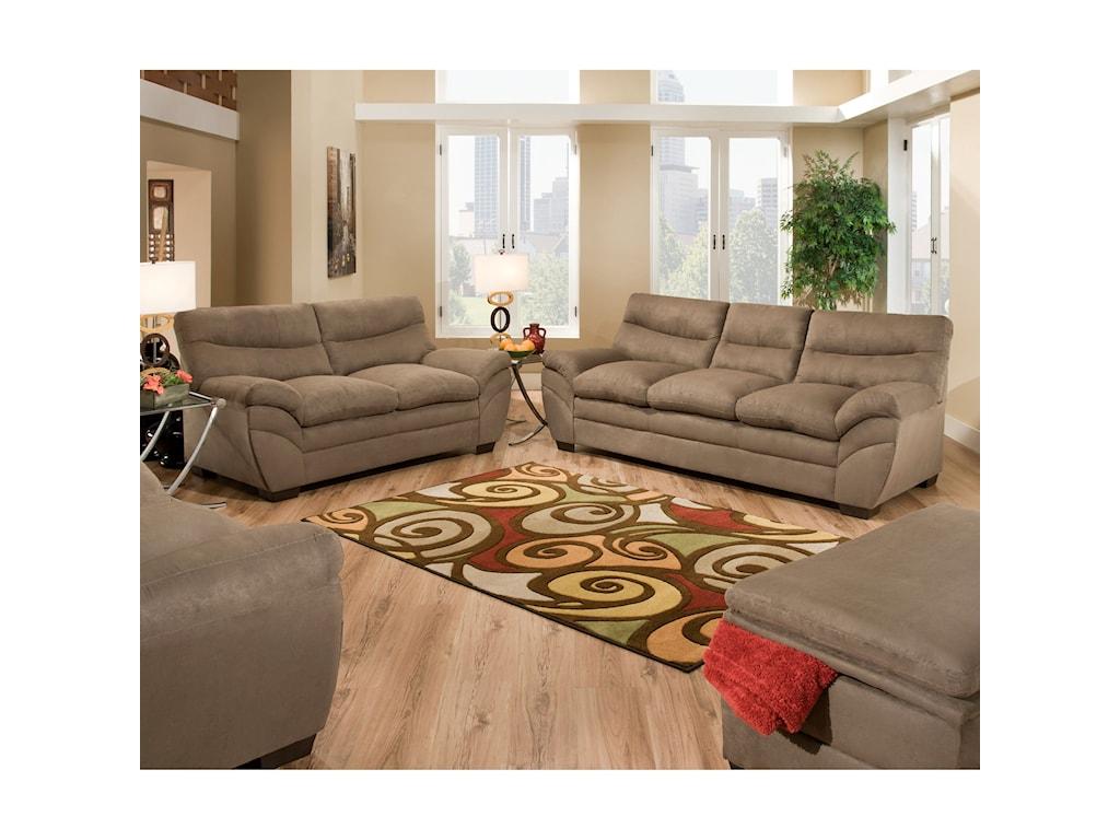 United Furniture Industries 9515Sofa