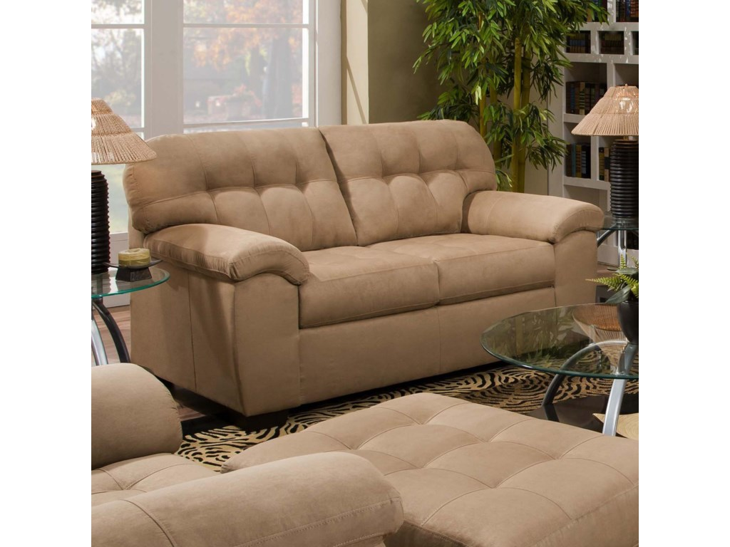 United Furniture Industries 9558Transitional Loveseat