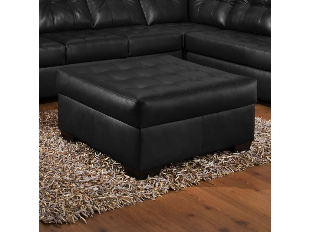 United Furniture Industries 9568Tufted Cocktail Ottoman