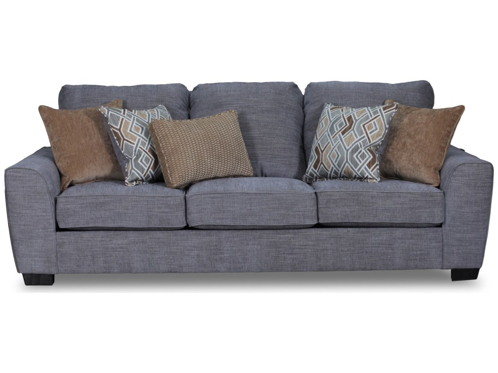 United Furniture Industries 9770BR Contemporary Sofa | Darvin ...