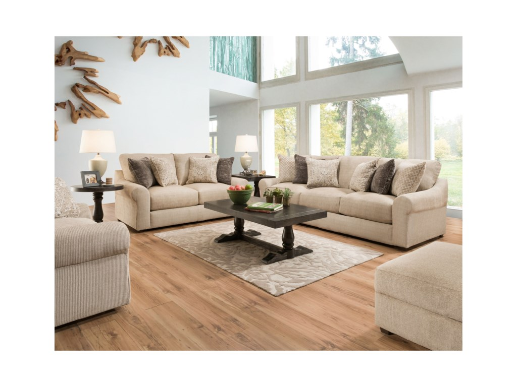 United Furniture Industries 9906Love Seat