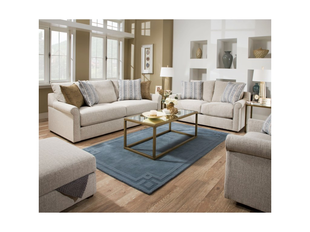Simmons Upholstery 9910Loveseat