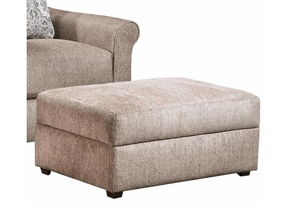 Simmons Upholstery 9910Storage Ottoman