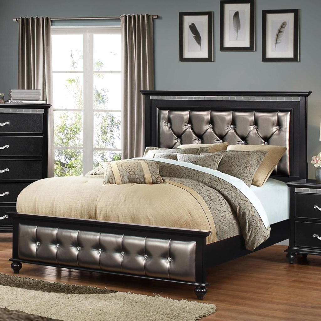 United Furniture Industries Hollywood 1007 Transitional King Bed