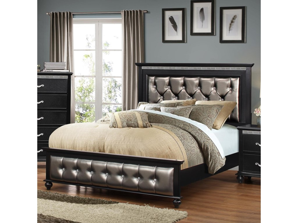 furniture aico product loft broadway silver bedroom set hollywood