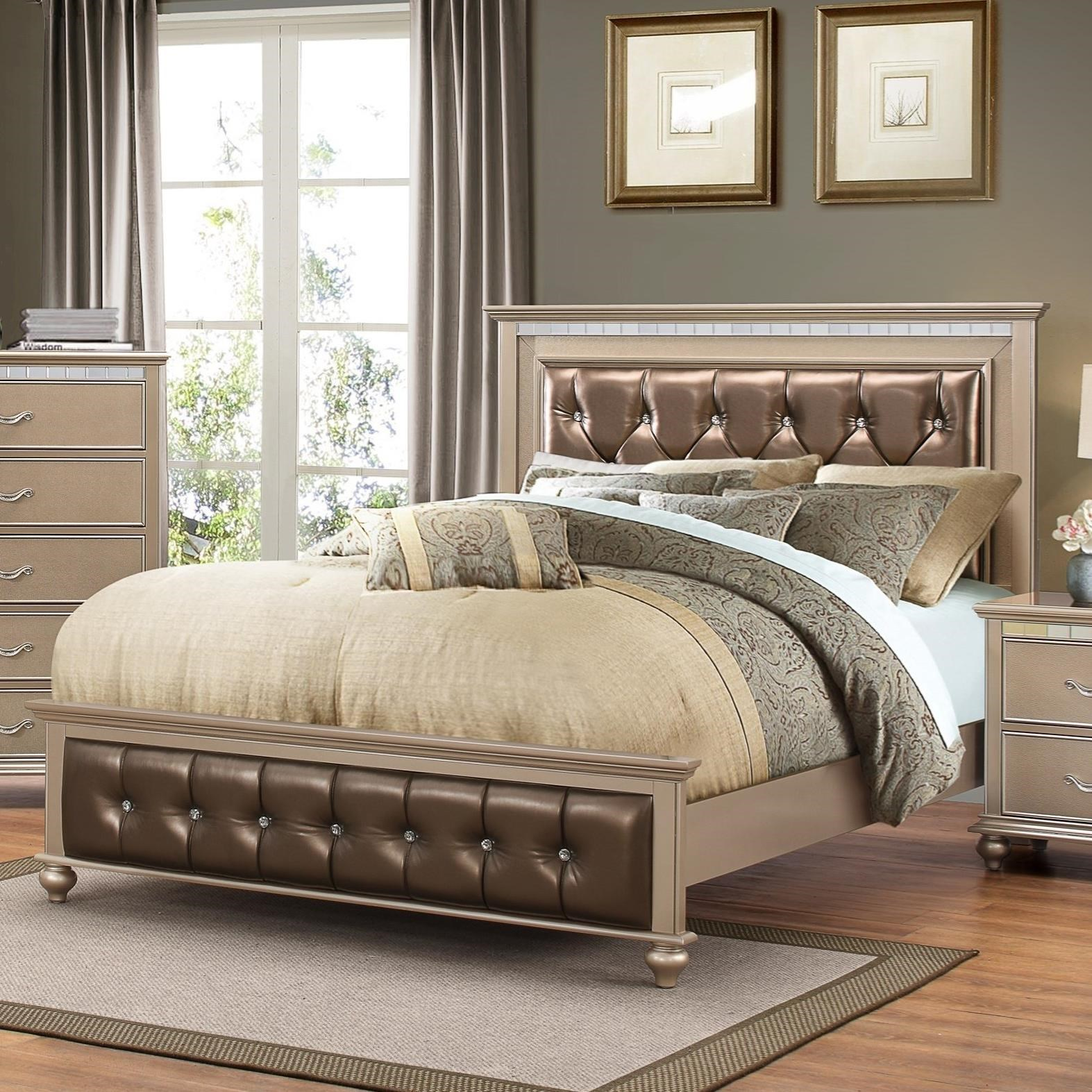 United Furniture Industries Hollywood 1008Queen Bed ...