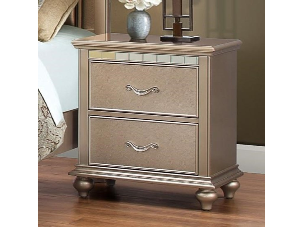 United Furniture Industries Hollywood 1008Night Stand