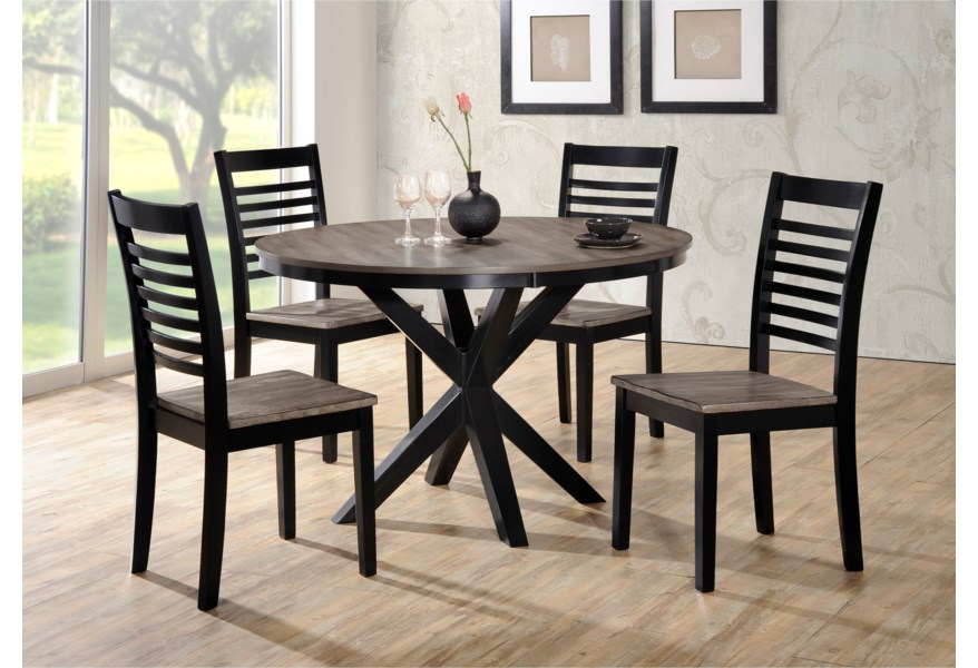 South Beach 5 Piece Table And Chair Set