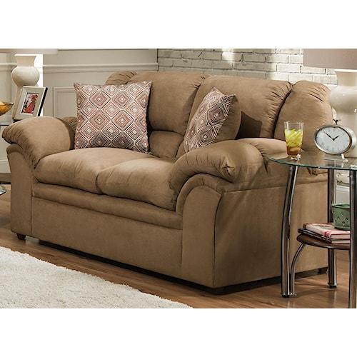 United Furniture Industries 1720 Sofa: United Furniture Industries 1720 Love Seat