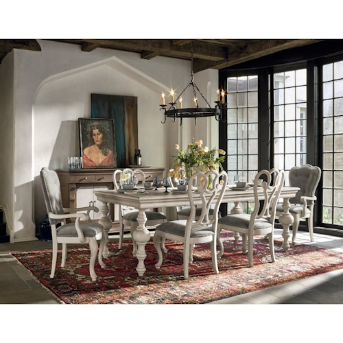 Universal Élan Traditional Formal Dining Room Group