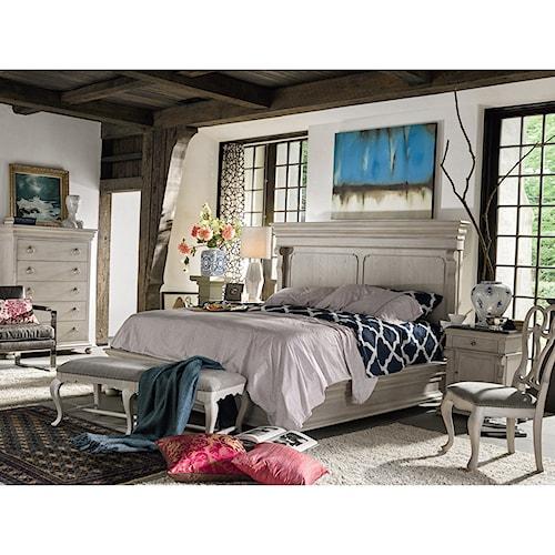 Universal Élan Traditional King Bedroom Set