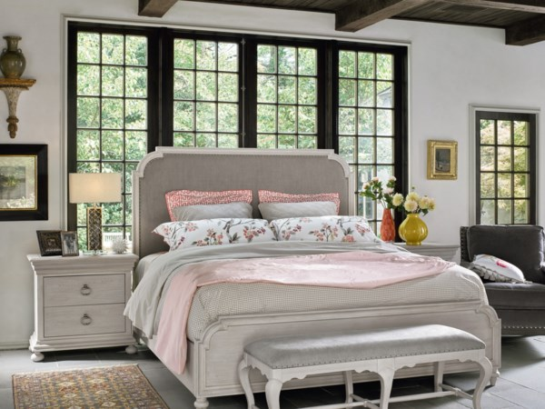Transitional Queen Bedroom Group