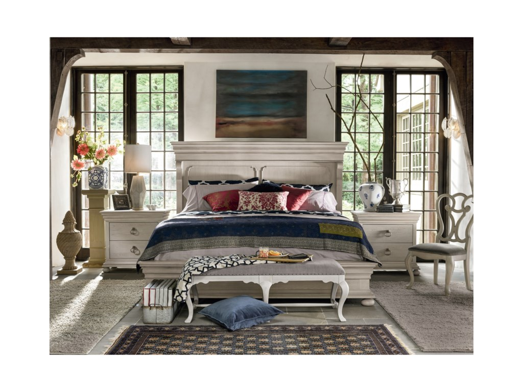 Universal ÉlanTraditional King Bedroom Set