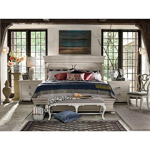 Universal Élan Traditional Queen Bedroom Set