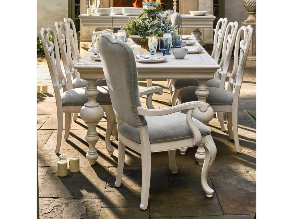 Universal ÉlanTraditional Dining Table and Chair Set
