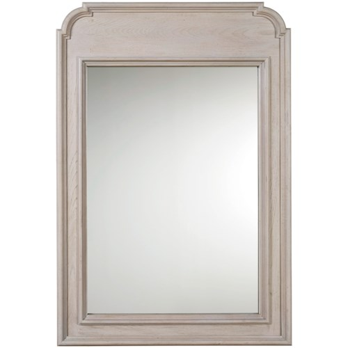 Universal Élan Traditional Mirror with Elegant Wood Moulding