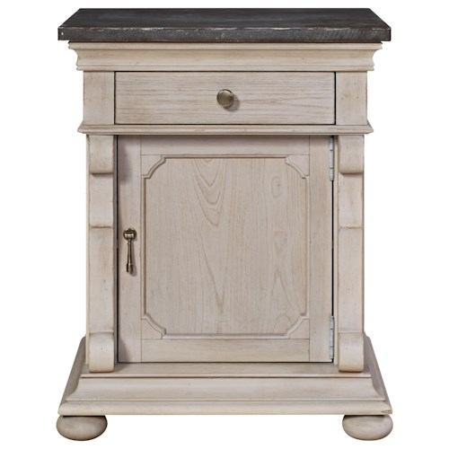 Universal Élan 1-Drawer Traditional Door Commode with Adjustable Shelf