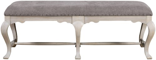 Universal Élan Traditional Bed End Bench with Nailhead Trim