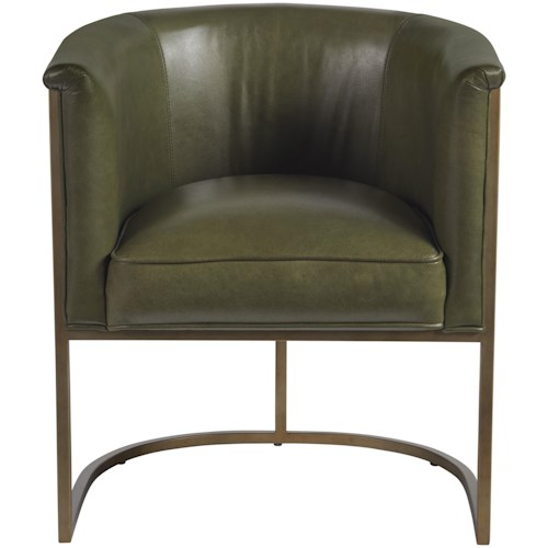 Universal Accent Chairs Contemporary Wing Back Accent Chair