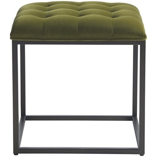 Universal Accent Chairs Ottoman with Button Tufting