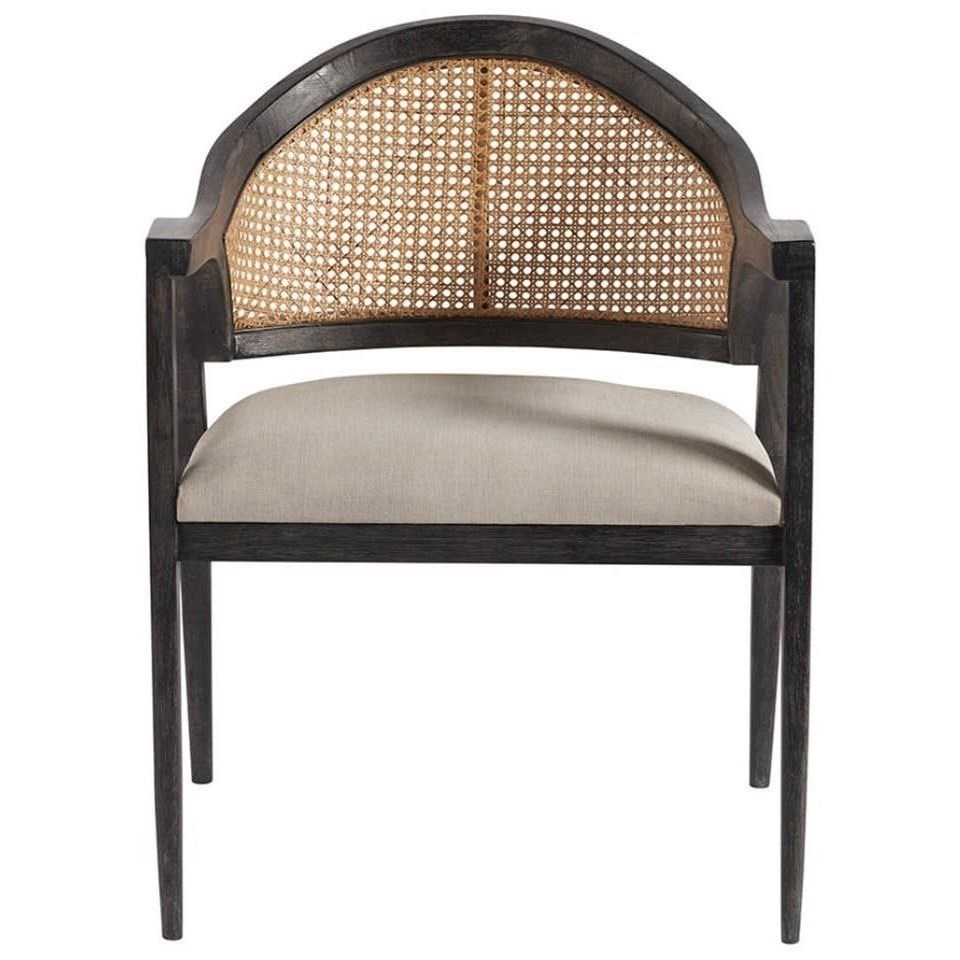 Dexter Accent Chair with Woven Back