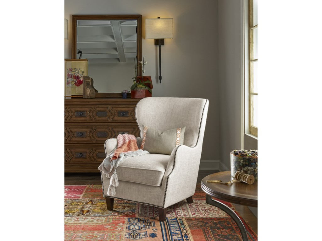 Universal Accent ChairsCagney Wing Chair