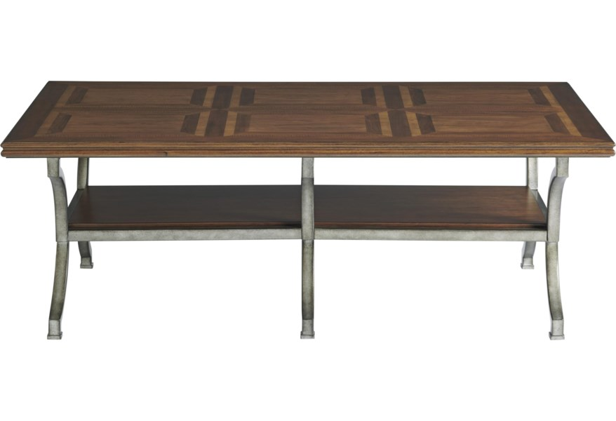 Universal Ardmore 909801 Traditional Cocktail Table With